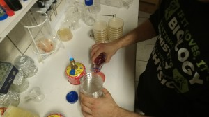 steriles Arbeiten mti dem Brenner